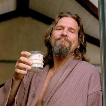 The Dude white russian