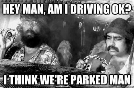 Cheech & Chong Parked