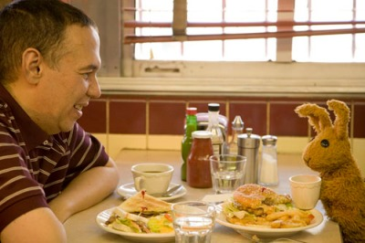 Lunch with Gilbert Gottfried... where do I sign up?