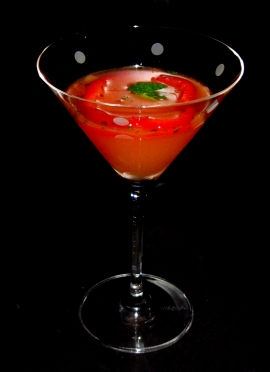 Pepper Delicious Martini