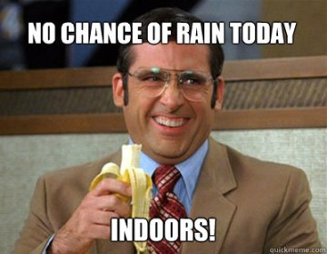 No Rain Indoors