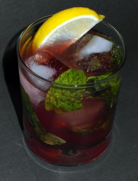 Pama-Jama Cocktail