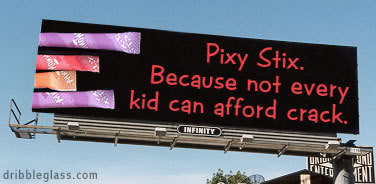 Pixy Stix Billboard