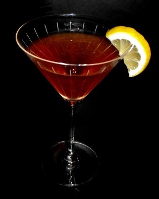 Jet Black Cocktail