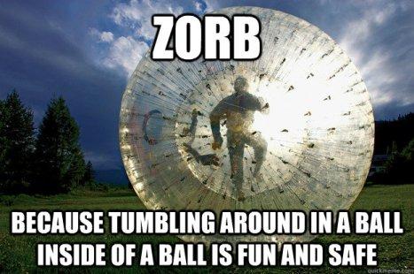 Zorbing