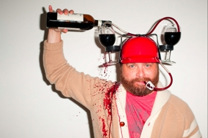 Perhaps Zach Galifianakis will be the next celeb to invest in a winery!?