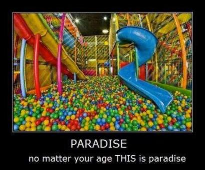 paradise ball pit