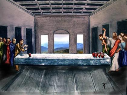 Even Jesus played Beer Pong... looks like a shutout is brewing!