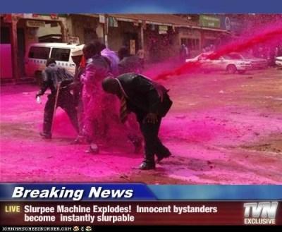 Slurpee Explosion