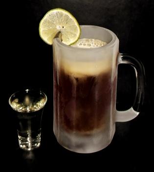 Boilermaker Beer Cocktail