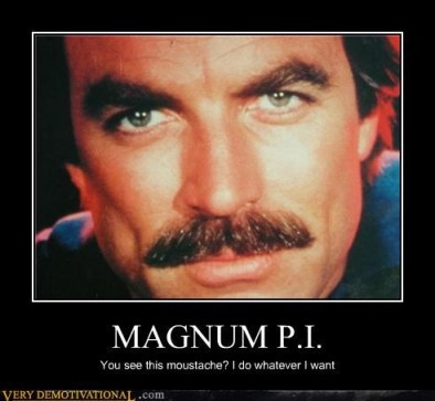 Magnum PI Moustache