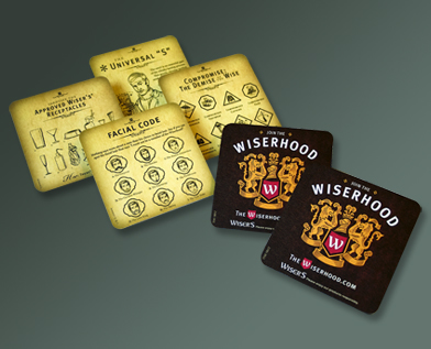 Wiser's Coasters