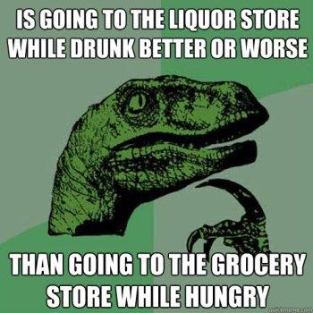 Liquor Shopping
