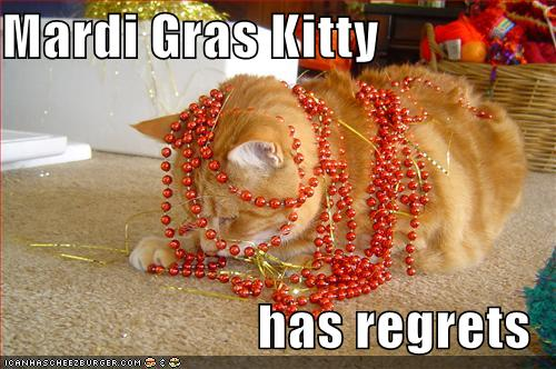 Mardi Gras Kitty