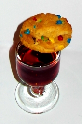 Rainbow Cookie Shot