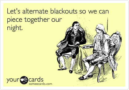 Alternate Blackouts