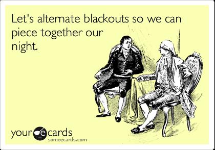 Alternate Blackouts