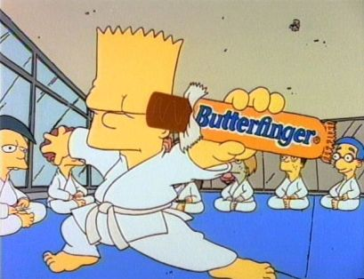 Butterfinger-Bart Simpson