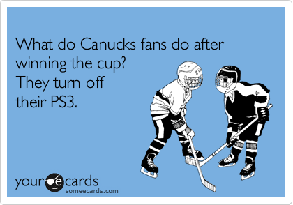 Canucks Fans Stanley Cup