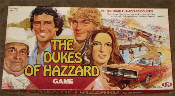 dukes of hazzard board game