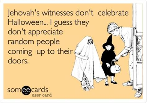 halloween-Jehovah's Witnesses