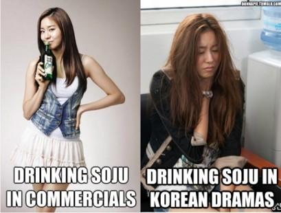 Korean drinking