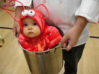 Lobster Kids Costume Lobster Kid