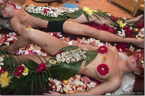 nyotaimori couple