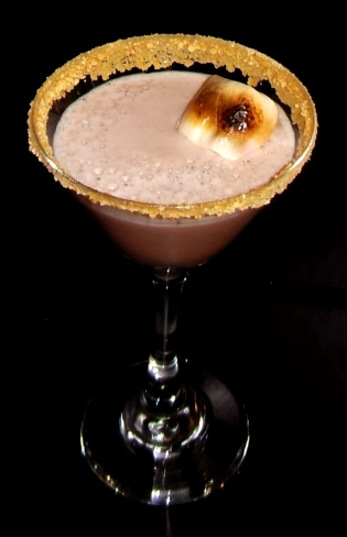 Campfire Martini Drink Recipe