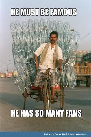 so many fans