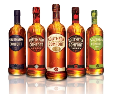 Southern Comfort Flavours