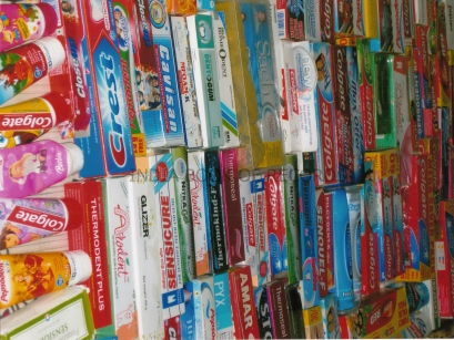 toothpaste collection
