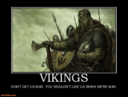Vikings Mad