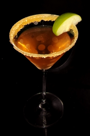 Apple Pie Martini Cocktail