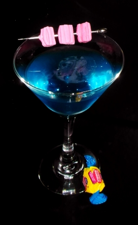 Dubble Bubble Martini