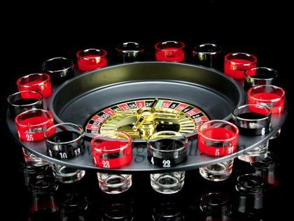 Roulette Shot Wheel