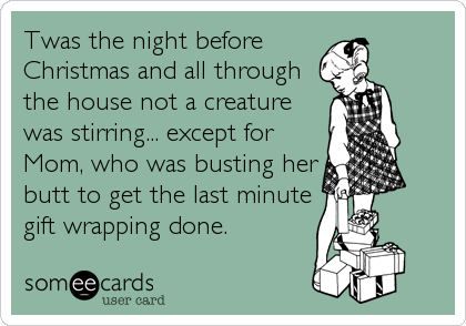 Last Minute Wrapping