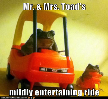 Mr. Toad's Ride