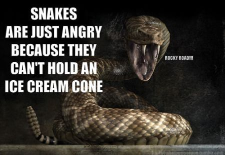 snakes angry