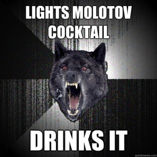 Drinks Molotov Cocktail