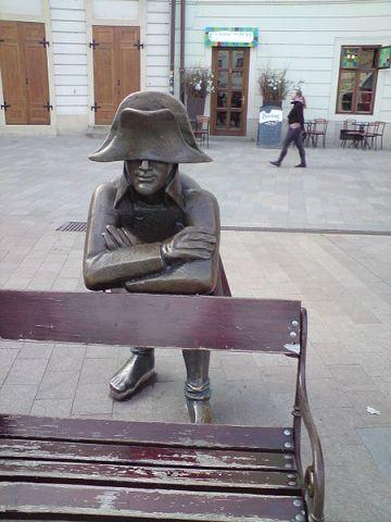 Napoleon statue