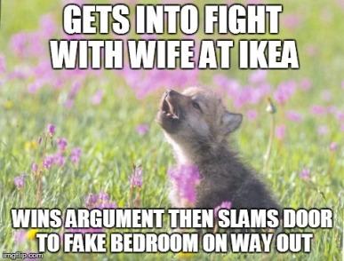 ikea fight
