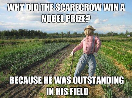 Scarecrow Nobel Prize