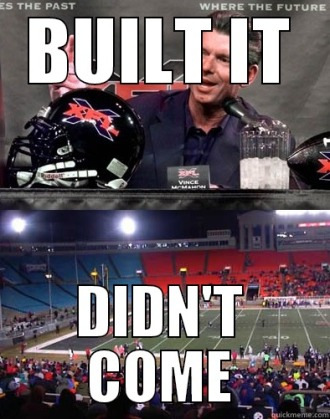 Image result for xfl meme