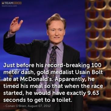Conan on Bolt