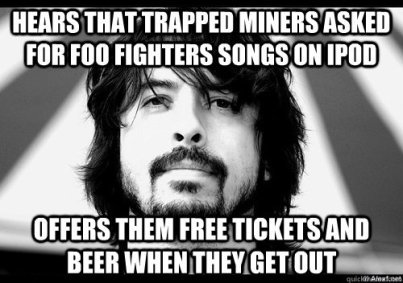 Foo Fighters - Miners