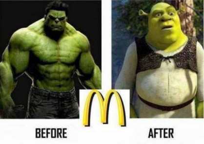 Hulk to Shrek