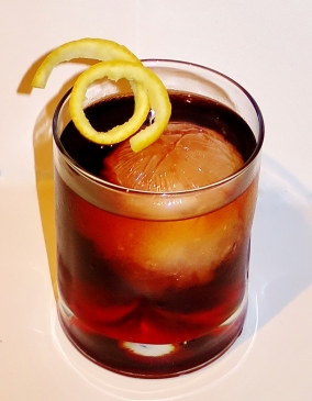 Pitch Dark Cocktail