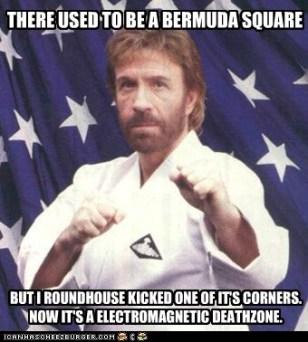 Chuck Norris Bermuda Triangle