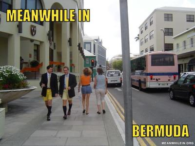 meanwhile in bermuda